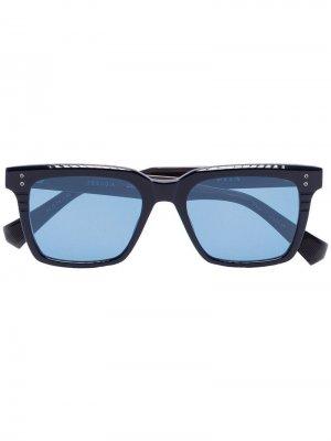Солнцезащитные очки DRX Sequoia в квадратной оправе Dita Eyewear. Цвет: черный