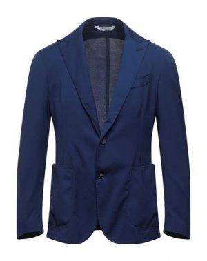 Пиджак BOTTEGA MARTINESE. Цвет: синий