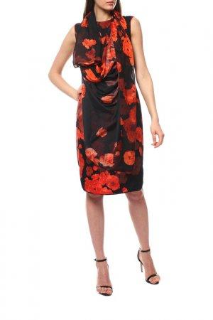 Платье GIAMBATTISTA VALLI. Цвет: черный