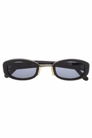 Солнцезащитные очки Charles Jourdan Vintage. Цвет: черный