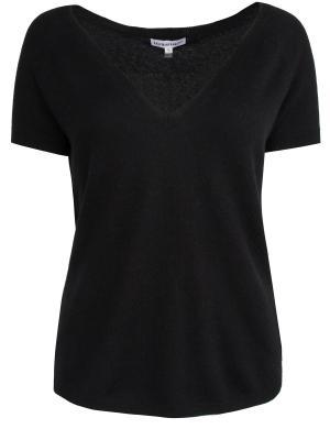 Кашемировая футболка KAUFMANFRANCO. Цвет: черный