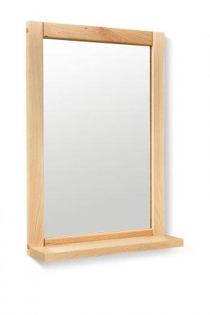 Зеркало с полкой Leset. Цвет: бежевый