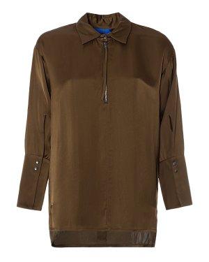Блуза 29CY336/7 44 оливковый ROQUE ILARIA NISTRI. Цвет: оливковый