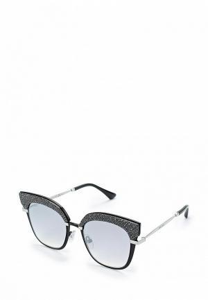 Очки солнцезащитные Jimmy Choo ROSY/S  IXA. Цвет: серебряный