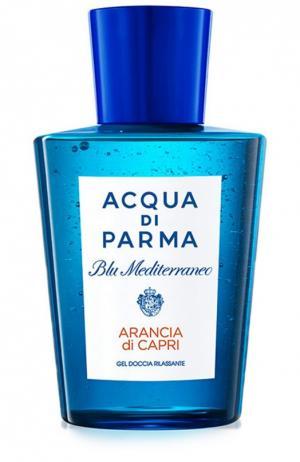Гель для душа Blu Mediterraneo Arancia di Capri Acqua Parma. Цвет: бесцветный