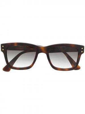 Солнцезащитные очки Erato в прямоугольной оправе Epos. Цвет: коричневый