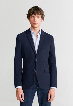 Пиджак Mango Man - FABRE. Цвет: синий