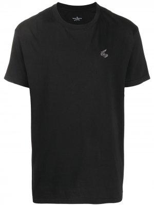 Футболка Arm & Cutlass с логотипом Vivienne Westwood Anglomania. Цвет: черный
