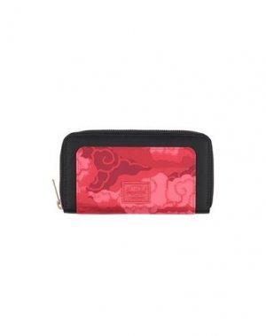 Бумажник HERSCHEL SUPPLY CO.. Цвет: красный