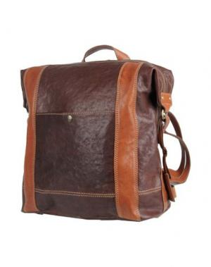 Рюкзаки и сумки на пояс GIANNI CONTI. Цвет: темно-коричневый