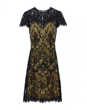 Платье до колена CATHERINE DEANE. Цвет: черный