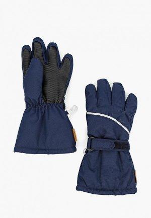 Перчатки Reima Harald. Цвет: синий