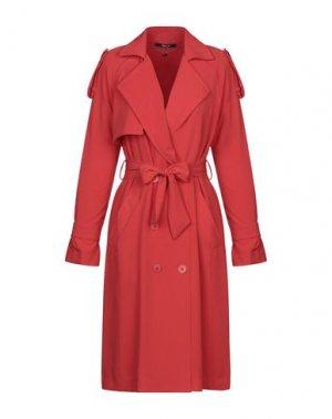Легкое пальто SISTE' S. Цвет: красный