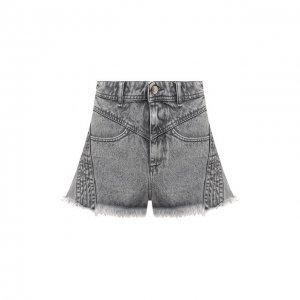 Джинсовые шорты Iro. Цвет: серый