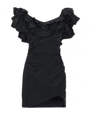 Короткое платье ALEXIS. Цвет: черный