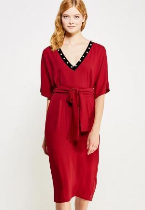Платье Imperial. Цвет: красный
