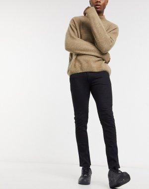 Черные джинсы скинни 734-Черный HUGO