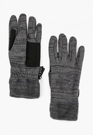 Перчатки Jack Wolfskin AQUILA GLOVE WOMEN. Цвет: серый