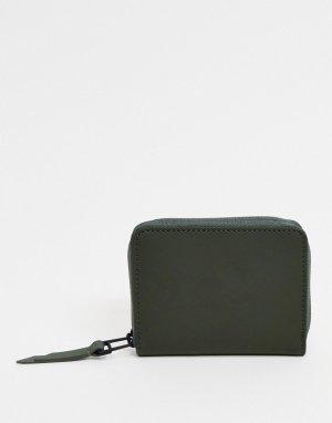 Зеленый бумажник RAINS 1627-Зеленый цвет