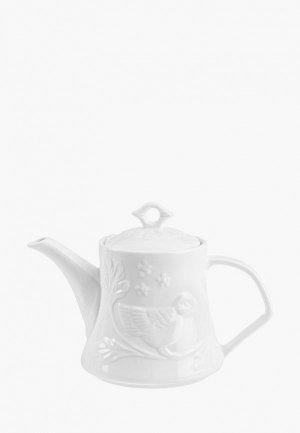 Чайник заварочный Elan Gallery 1,1 л. Цвет: белый