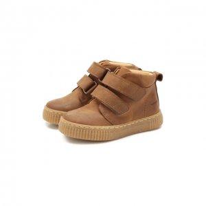 Кожаные ботинки Angulus. Цвет: коричневый