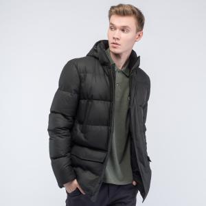 Куртка Пуховик Lacoste. Цвет: черный