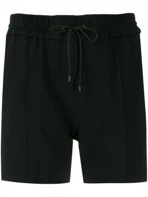Спортивные шорты с лампасами Kenzo. Цвет: черный