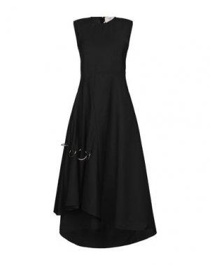 Платье длиной 3/4 PORTS 1961. Цвет: черный