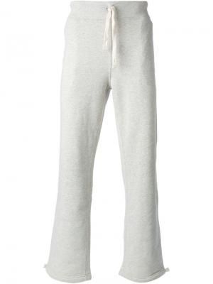 Классические спортивные брюки Polo Ralph Lauren. Цвет: серый