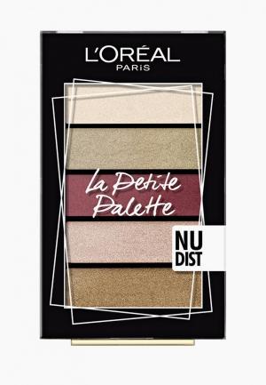 Палетка для глаз LOreal Paris L'Oreal La Petite Palette, оттенок 02, Откровенность. Цвет: разноцветный