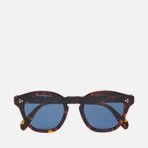Солнцезащитные очки Boudreau LA Oliver Peoples. Цвет: коричневый