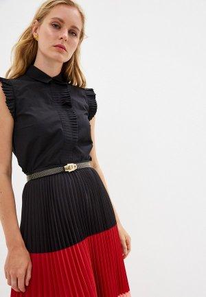 Блуза Akris Punto. Цвет: черный