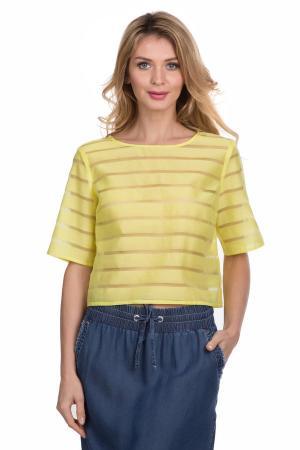 Блузa Tuzzi. Цвет: жёлтый