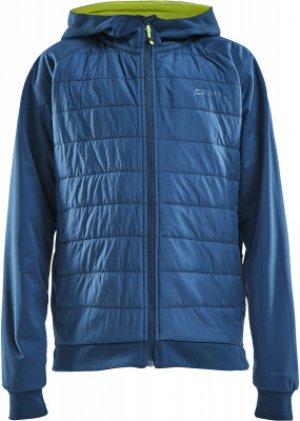 Куртка утепленная для мальчиков , размер 134-140 Craft. Цвет: синий