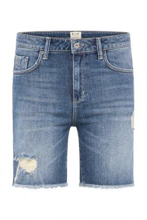Шорты джинсовые Mustang. Цвет: denim blue