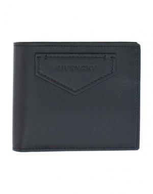 Бумажник GIVENCHY. Цвет: черный