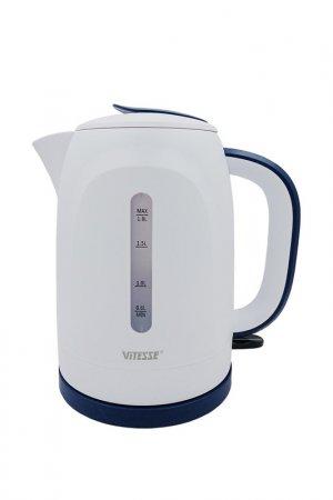 Чайник электрический 1,8л Vitesse. Цвет: синий, белый