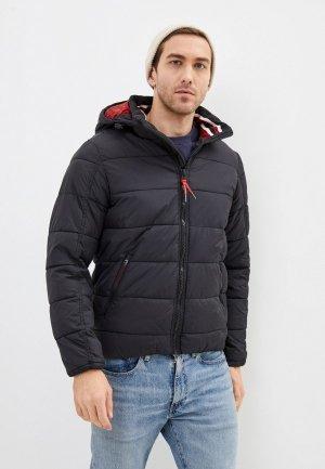 Куртка утепленная Indicode Jeans Vadim. Цвет: черный