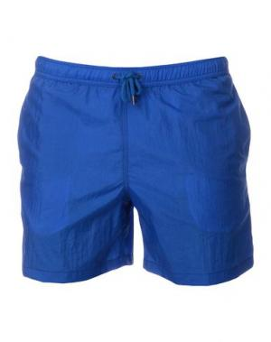 Шорты для плавания ASPESI. Цвет: ярко-синий