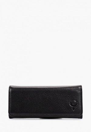 Ключница D.Morelli Black D.Morelli, 14х6.5 см. Цвет: черный