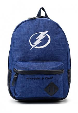 Рюкзак Atributika & Club™ NHL Tampa Bay Lightning. Цвет: синий