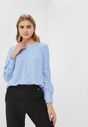 Блуза Argent. Цвет: голубой