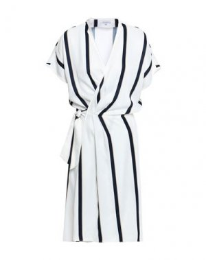 Короткое платье EQUIPMENT. Цвет: белый