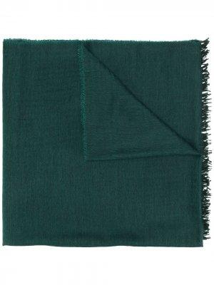 Кашемировый шарф Begg & Co. Цвет: зеленый