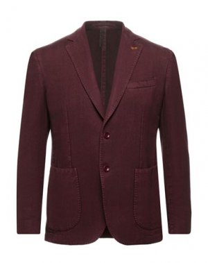 Пиджак HARMONT&BLAINE. Цвет: красно-коричневый
