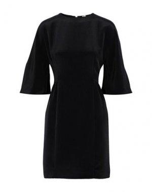 Короткое платье ADAM LIPPES. Цвет: черный