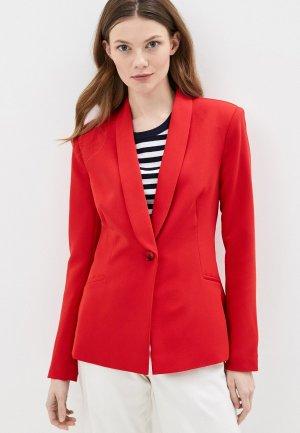 Пиджак Kira Plastinina. Цвет: красный