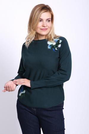 Пуловер Rabe collection. Цвет: зелёный