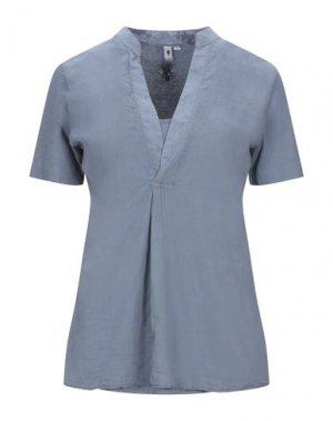 Блузка EUROPEAN CULTURE. Цвет: грифельно-синий