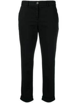 Укороченные брюки чинос PS Paul Smith. Цвет: черный